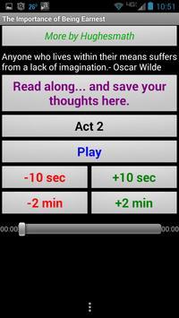 Listen to Importance of Being apk screenshot
