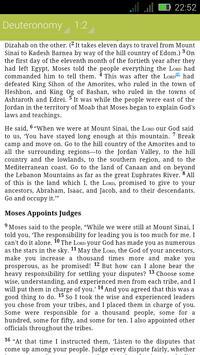 New Revised Standard Bible apk screenshot