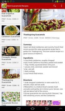 Best Guacamole Recipes apk screenshot