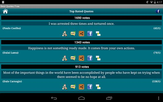 Best Quotes and Sayings apk screenshot
