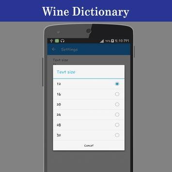 Wine Dictionary apk screenshot