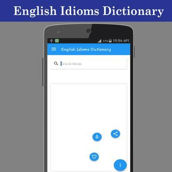 English Idioms Dictionary apk screenshot