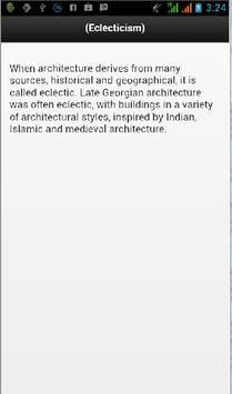 Architecture Design Dictionary apk screenshot