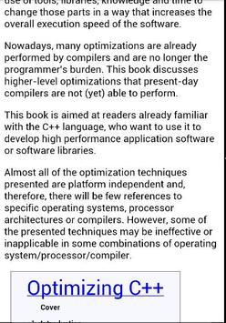Optimizing C++ apk screenshot