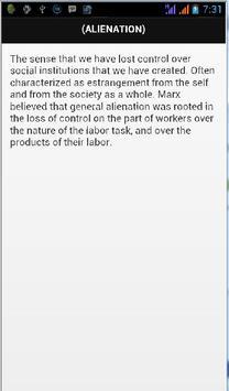 Sociology Definition apk screenshot