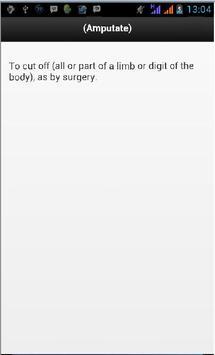 Surgery Definition apk screenshot