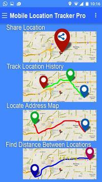 Mobile Location Tracker Pro poster