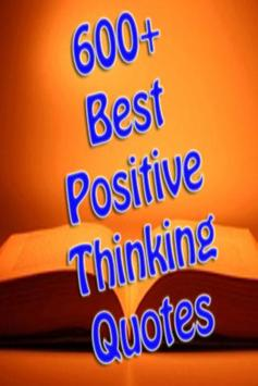 Best Positive Thinking Quotes poster