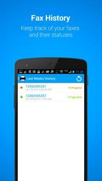 MobileFax apk screenshot