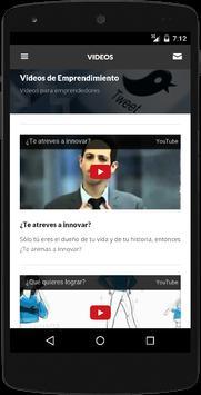 Emprendimiento apk screenshot