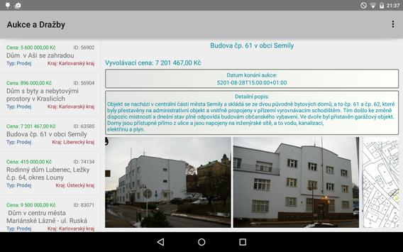 Aukce a Dražby apk screenshot