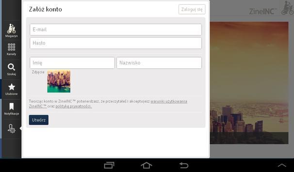 ZineINC™ apk screenshot