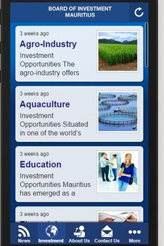 InvestMauritius apk screenshot
