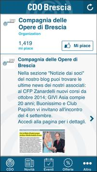 Compagnia delle Opere Brescia poster
