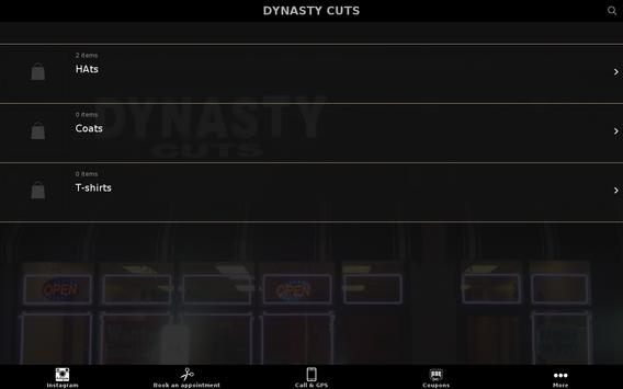DYNASTY CUTS apk screenshot