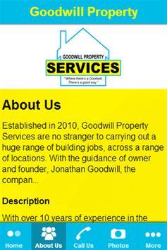 Goodwill Property Services apk screenshot