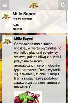 Mille Sapori apk screenshot