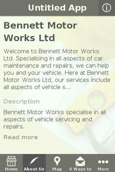 Bennett Motors apk screenshot