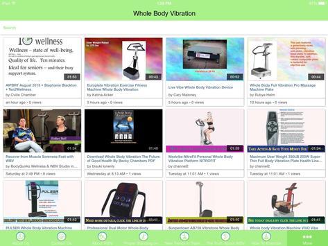 Whole Body Vibration apk screenshot