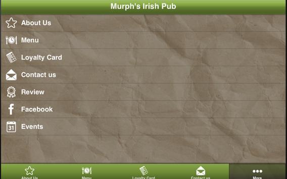 Murph's Irish Pub apk screenshot