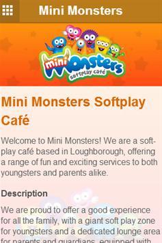 Mini Monsters apk screenshot