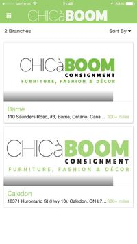 Chica Boom Consignment poster