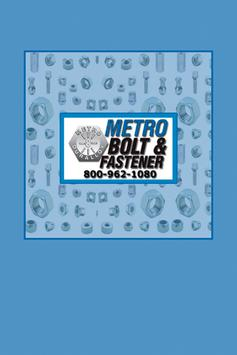 Metro Bolt & Fastener poster