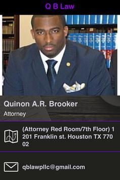 Q B Law poster