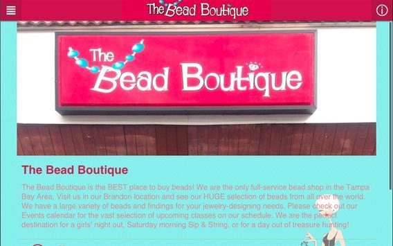 The Bead Boutique apk screenshot