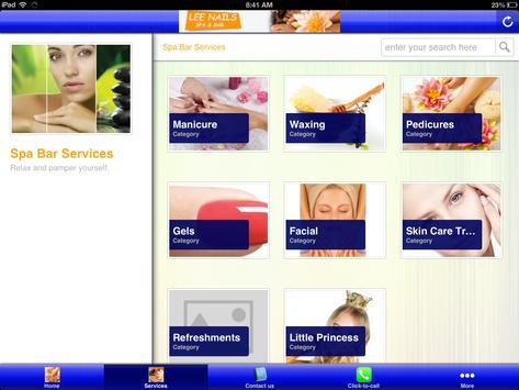 Lee Nail Salon and Bar apk screenshot