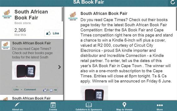 South African Book Fair apk screenshot