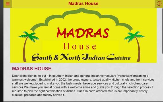 Madras House Perth apk screenshot