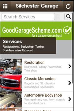 Silchester Garage apk screenshot