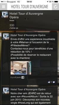 Hôtel Tour d'Auvergne Paris apk screenshot