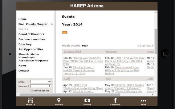 HAREP Arizona apk screenshot