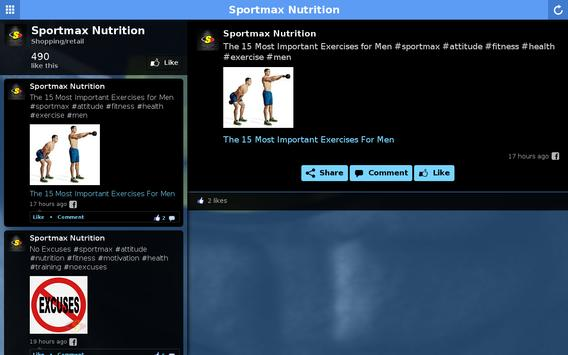 Sportmax Nutrition apk screenshot