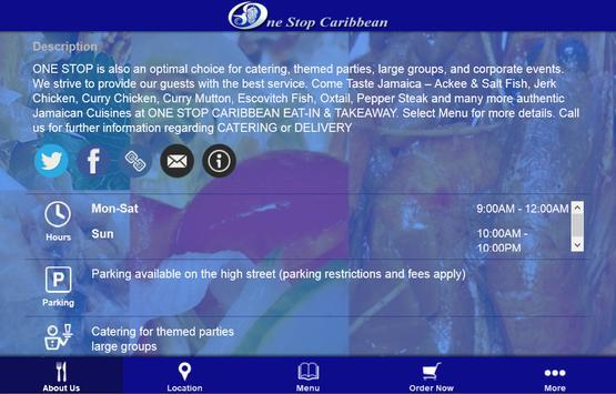 One Stop Caribbean apk screenshot