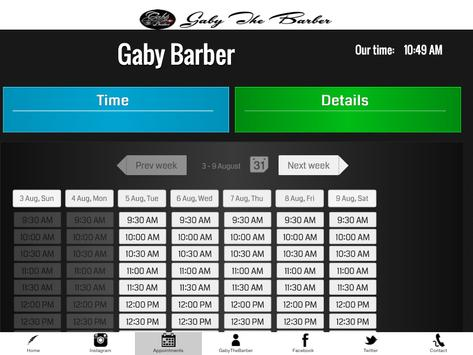 Gaby The Barber poster
