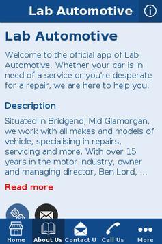 Lab Automotive apk screenshot