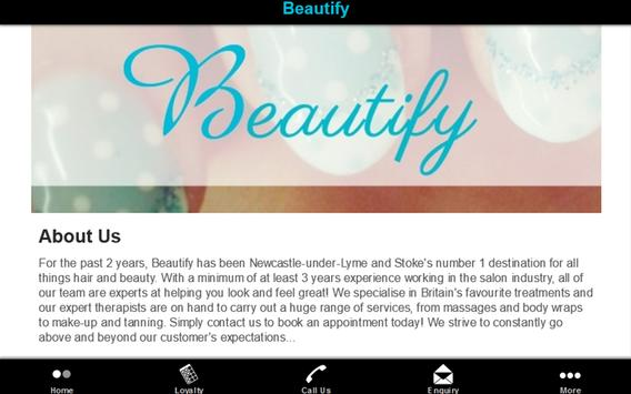 Beautify apk screenshot