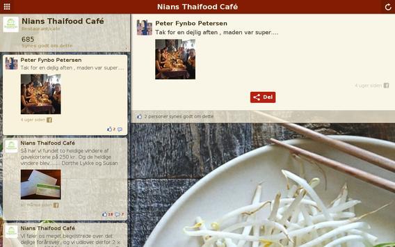 Nians Thaifood Café apk screenshot