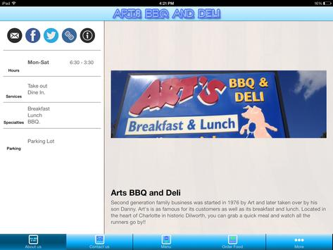 Arts BBQ and Deli Charlotte apk screenshot