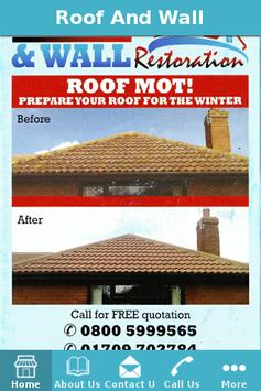 Roof And Wall Restoration poster