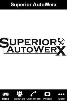 Superior Auto werx poster