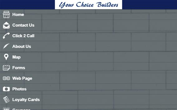 Your Choice Builders apk screenshot