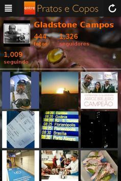 Entre Pratos e Copos apk screenshot