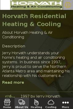Horvath HVAC apk screenshot