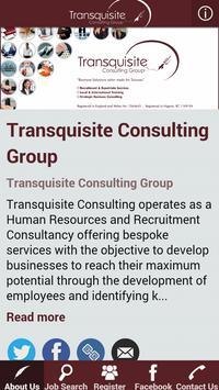 Transquisite Consulting poster