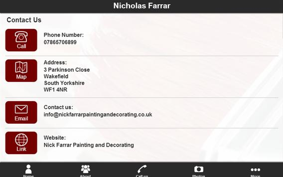 Nicholas Farrar apk screenshot