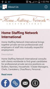 Home Staffing Network apk screenshot